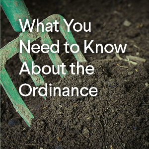 What You Need To Know About the Ordinance